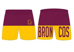 Brisbane Broncos Summer Performance Shorts  - Youth