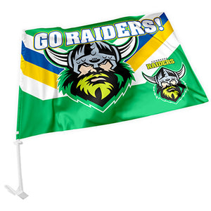Load image into Gallery viewer, Canberra Raiders Car Flag