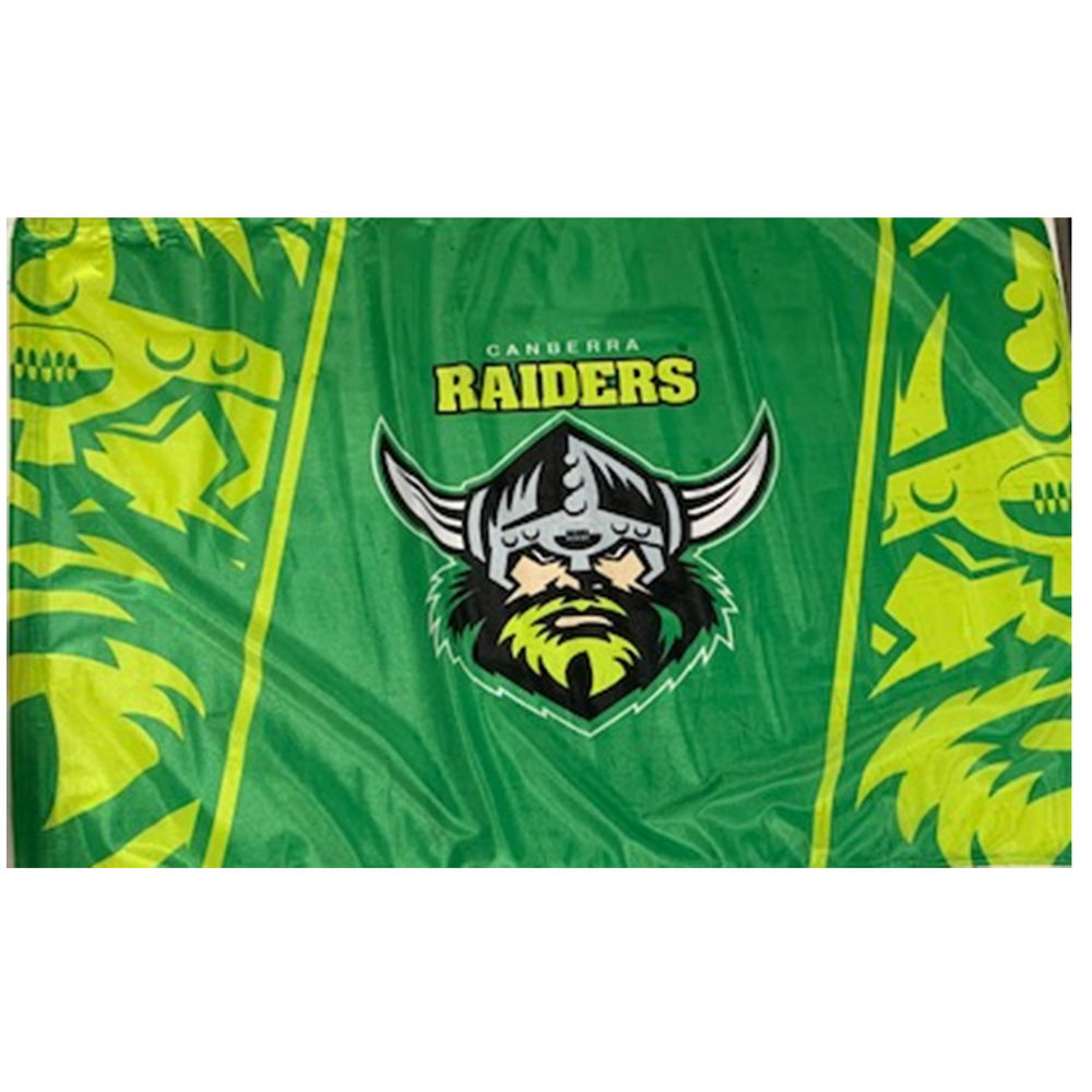 Canberra Raiders Game Day Flag