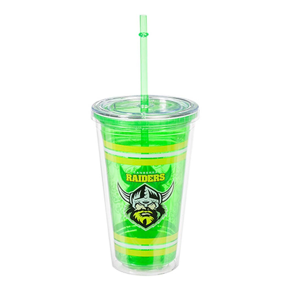 Canberra Raiders Tumbler with Straw