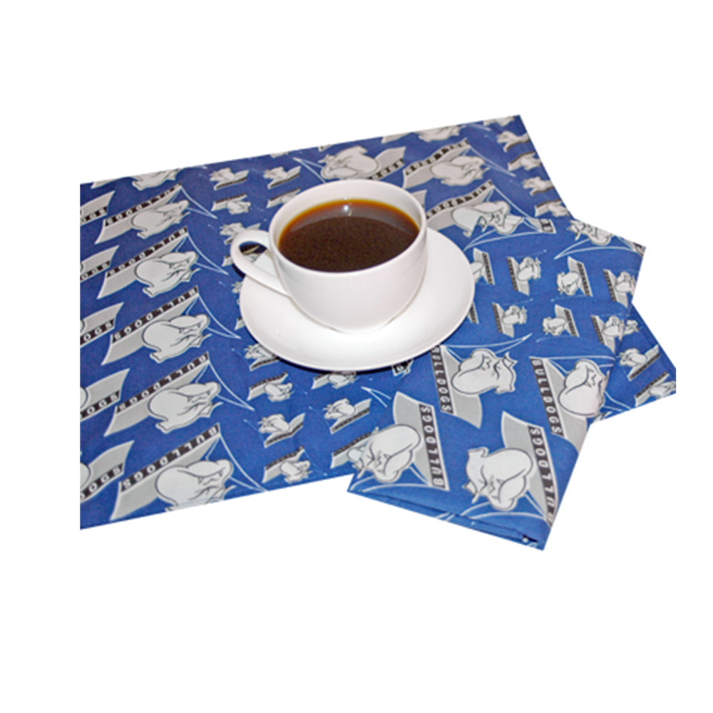Canterbury Bulldogs Set of 4 Placemats