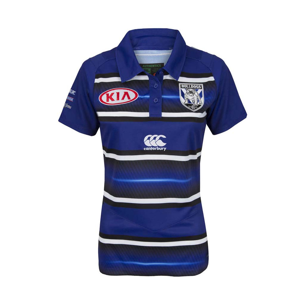 Load image into Gallery viewer, Canterbury Bulldogs 2018 Evo Pre Season Polo - Ladies