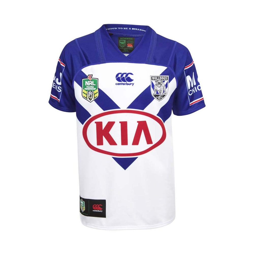Canterbury Bulldogs 2018 Home Jersey - Youth