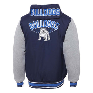 Load image into Gallery viewer, Canterbury Bulldogs 2018 Varsity Jacket  - Youth