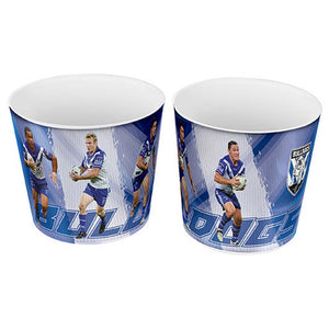 Canterbury Bulldogs 4-Player Snack Bowl