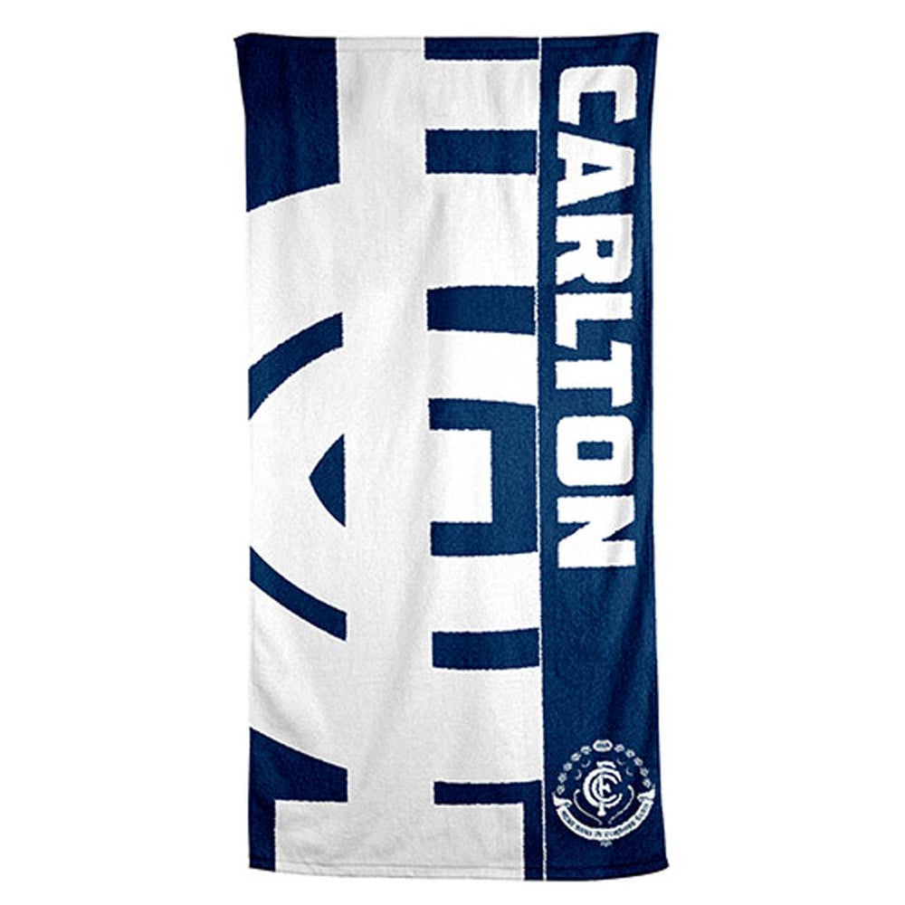 Carlton Blues Beach Towel