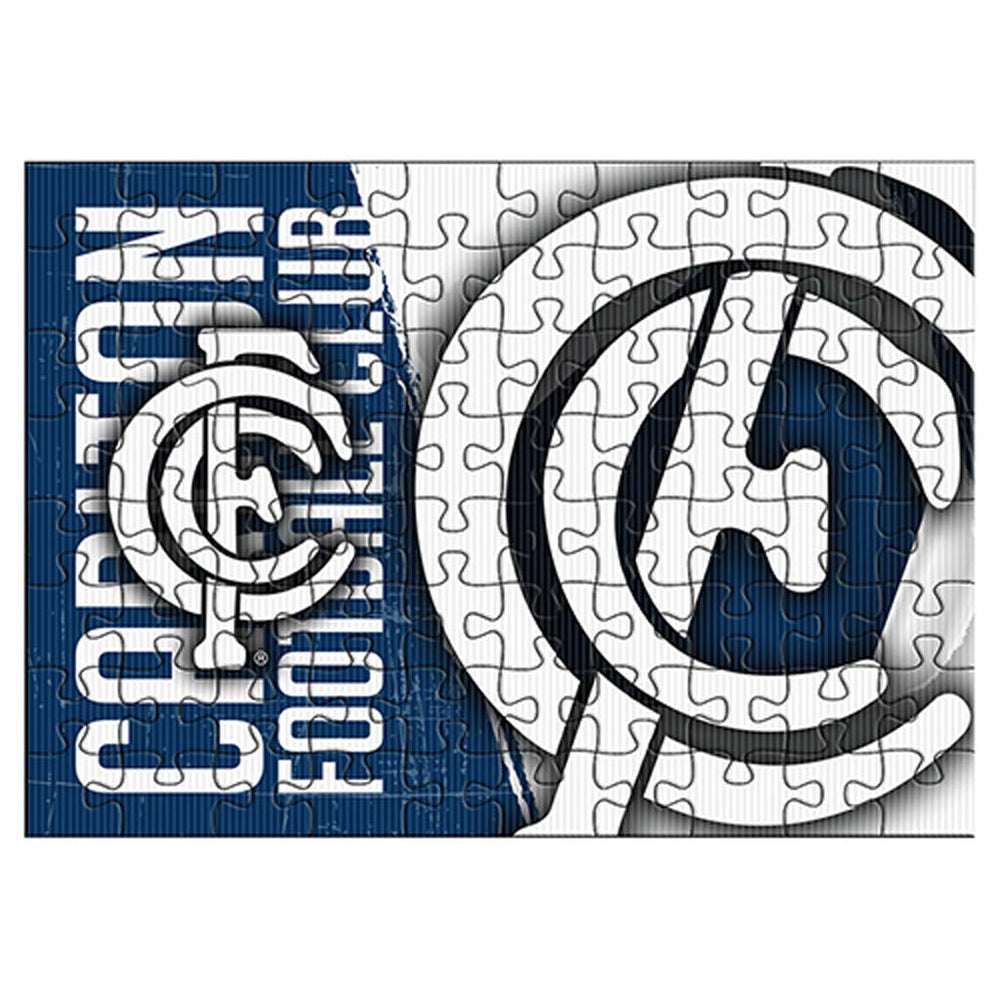 Carlton Blues Team Logo Puzzle