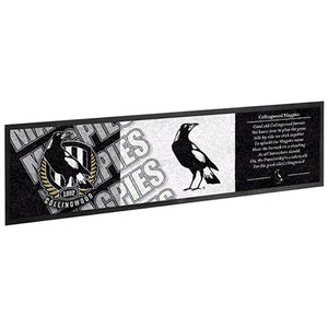 Collingwood Magpies Bar Runner