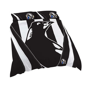 Load image into Gallery viewer, Collingwood Magpies Double Quilt Cover Set