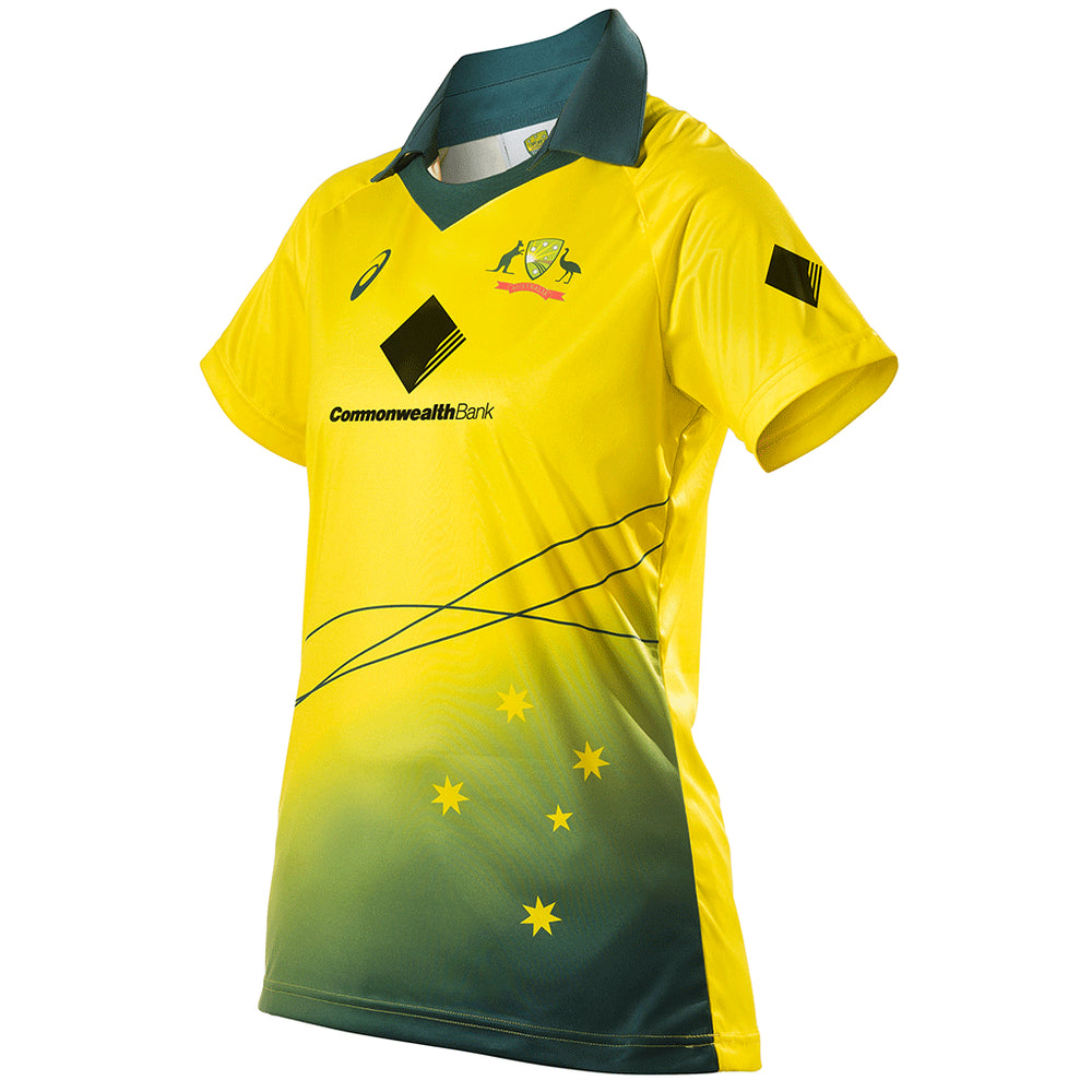 Cricket Australia 2017/18 Womens ODI Shirt - Ladies