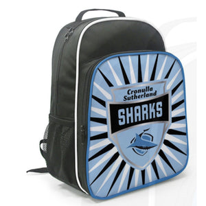Load image into Gallery viewer, Cronulla Sharks Kids Shield Backpack