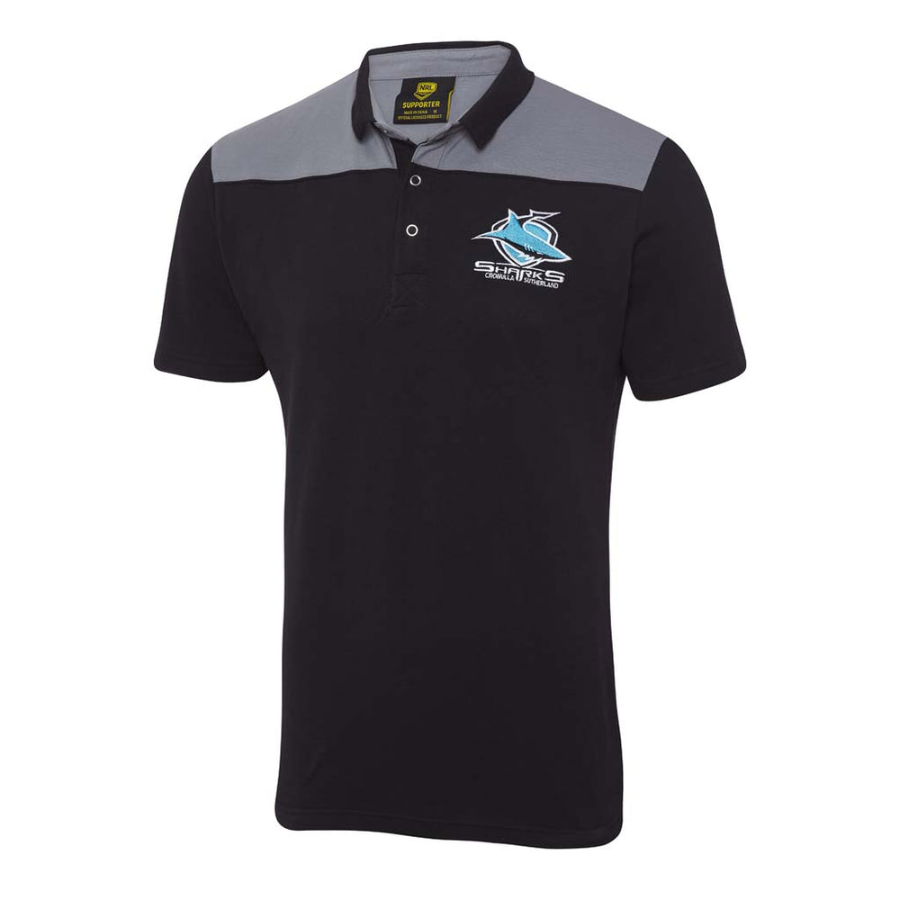 Cronulla Sharks 2018 Winter Knitted Polo