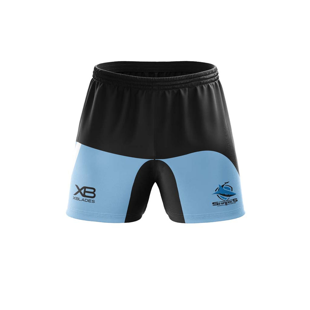 Cronulla Sharks 2019 Training Shorts - Youth