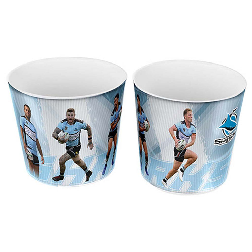 Cronulla Sharks 4-Player Snack Bowl