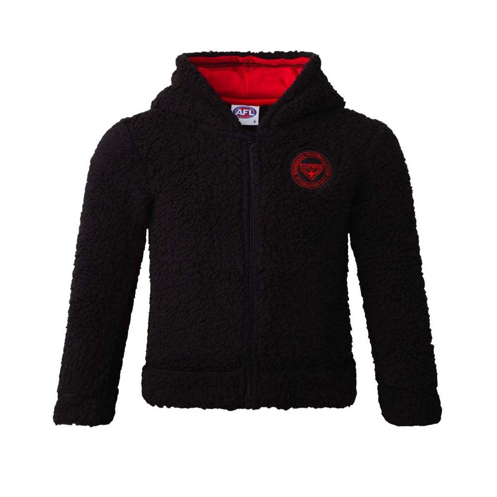 Load image into Gallery viewer, Essendon Bombers Toddler Hoodie