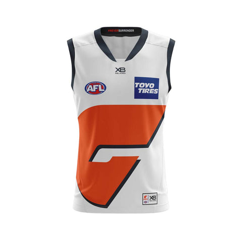 8f1ac07f8eb32 GWS Giants 2018 Clash Guernsey