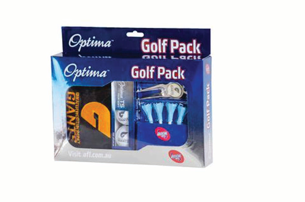 Load image into Gallery viewer, GWS Giants Optima 3 Ball Towel Golf Gift Pack