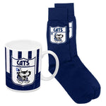 Geelong Cats Heritage Mug and Socks Pack