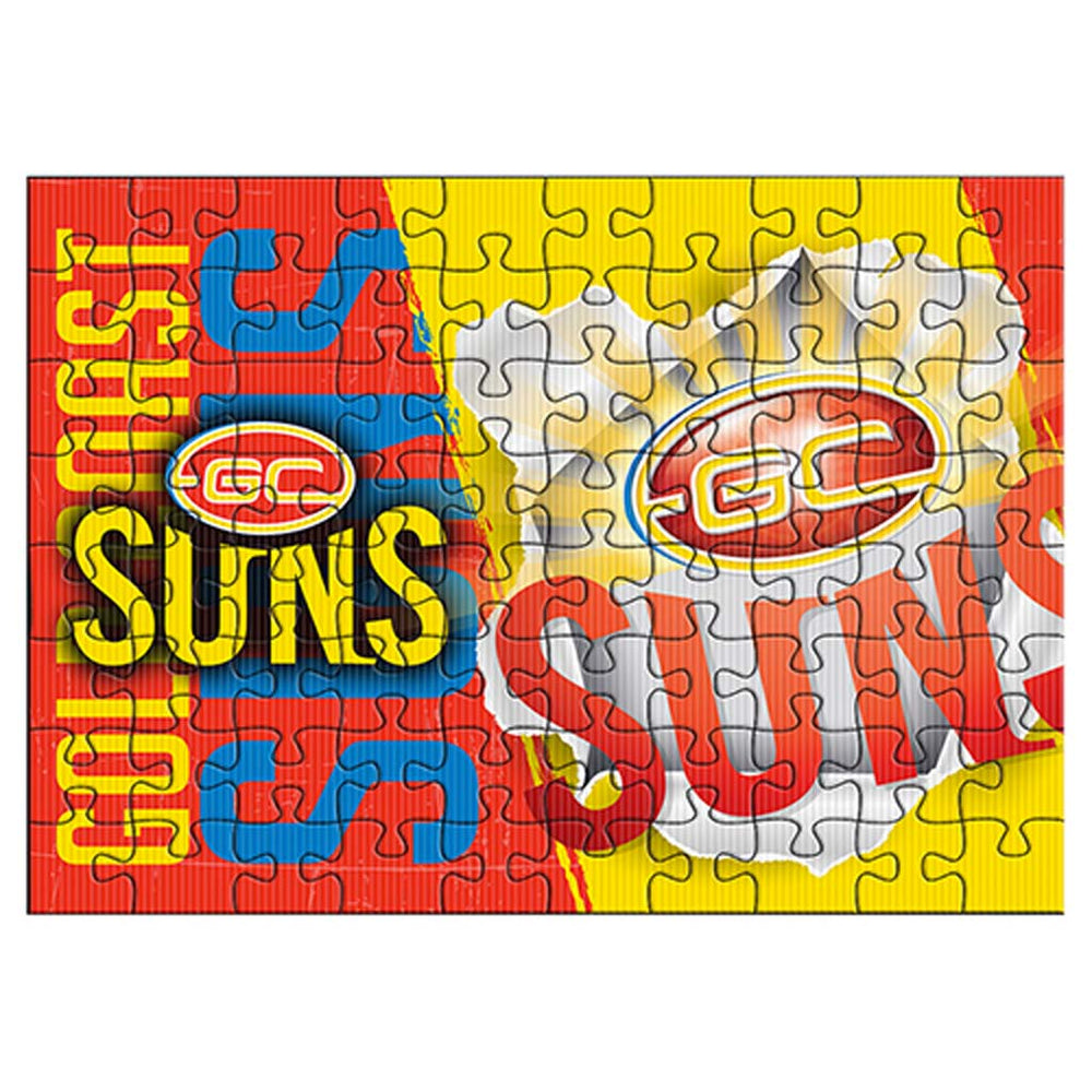 Gold Coast Suns Team Logo Puzzle