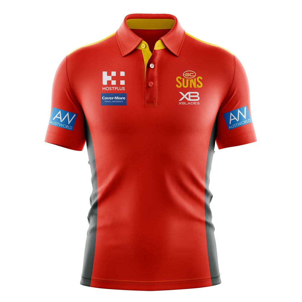 Gold Coast Suns 2019 Media Polo
