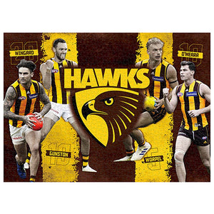 Hawthorn Hawks 4-Player Puzzle