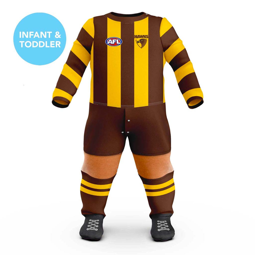 Load image into Gallery viewer, Hawthorn Hawks Footysuit - Infants