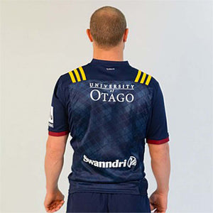 Load image into Gallery viewer, Otago Highlanders 2020 Home Jersey