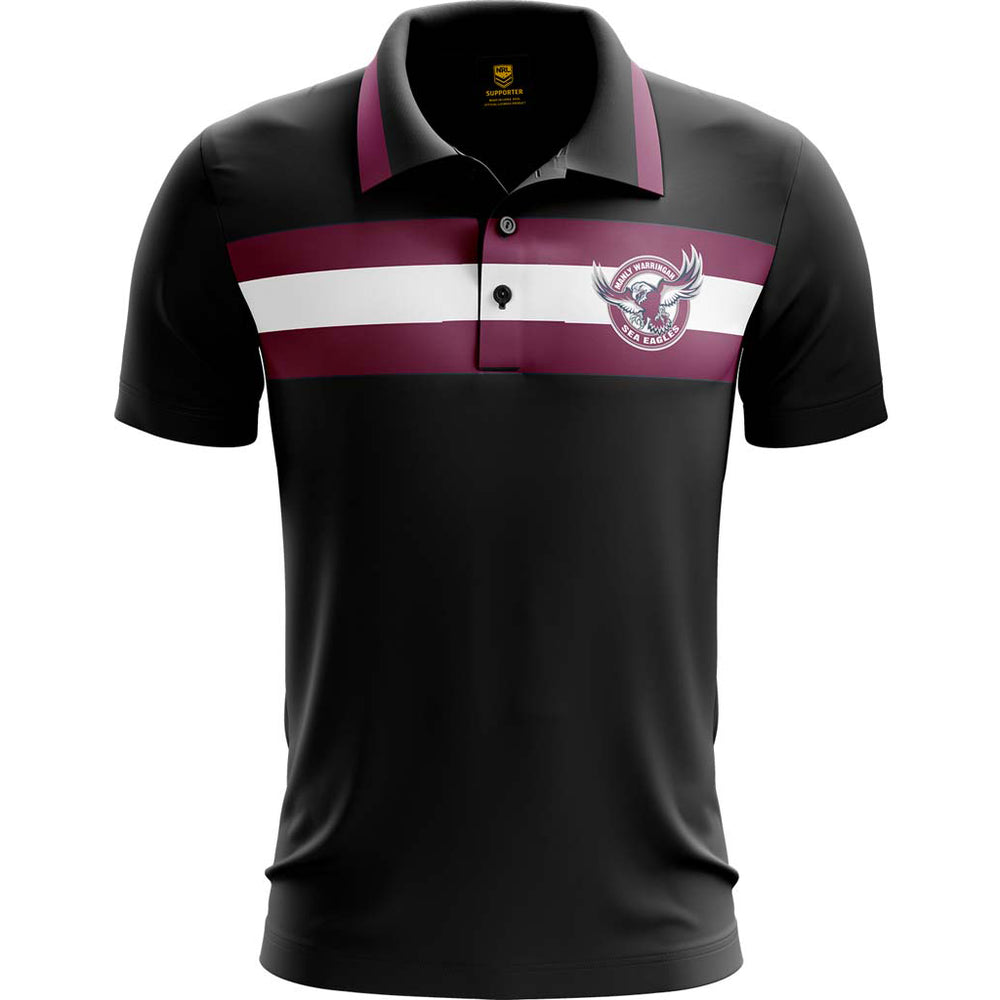Load image into Gallery viewer, Manly Sea Eagles 2019 Advantage Polo
