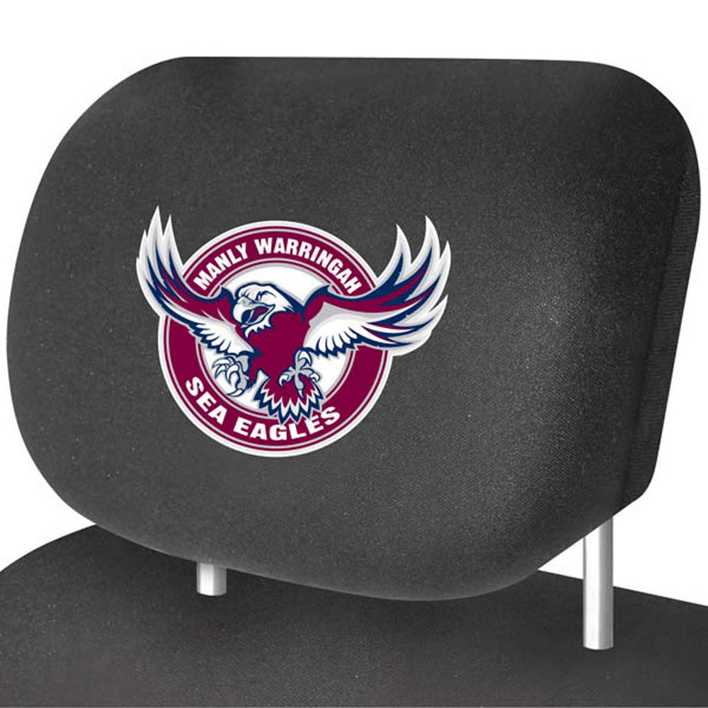 Manly Sea Eagles Head-Rest Covers