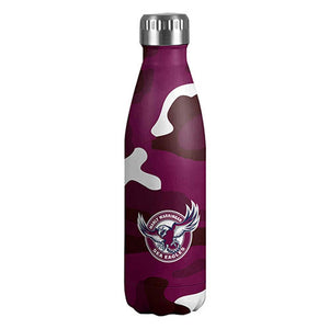 Manly Sea Eagles Stainless Steel Wrap Bottle