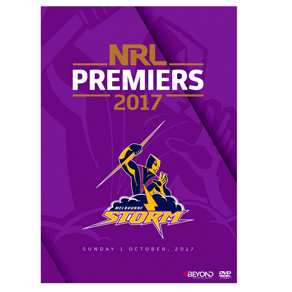 Load image into Gallery viewer, Melbourne Storm 2017 Premiers DVD