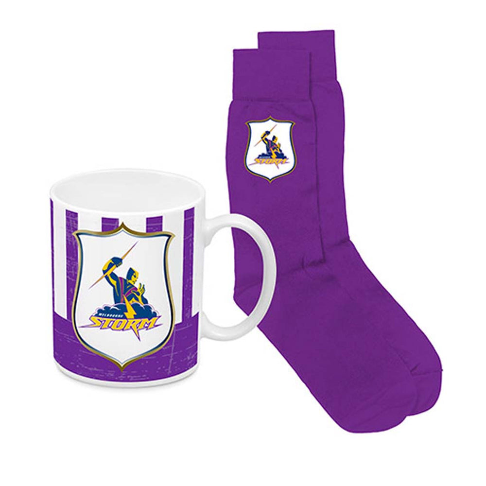 Melbourne Storm Heritage Mug and Socks Pack