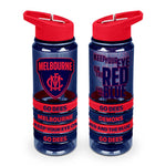 Melbourne Demons Tritan Bottle and Bands