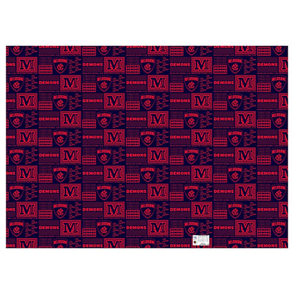 Load image into Gallery viewer, Melbourne Demons Wrapping Paper