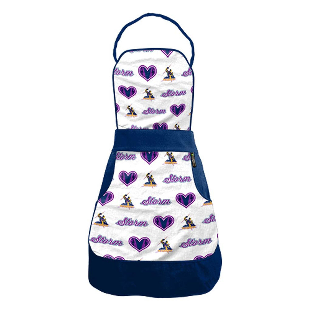 Melbourne Storm Ladies Retro Apron