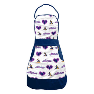 Load image into Gallery viewer, Melbourne Storm Ladies Retro Apron
