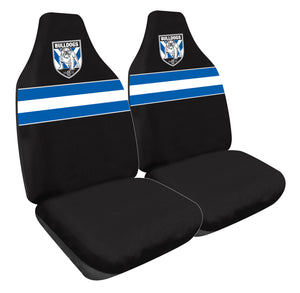 Load image into Gallery viewer, Canterbury Bulldogs Car Seat Covers