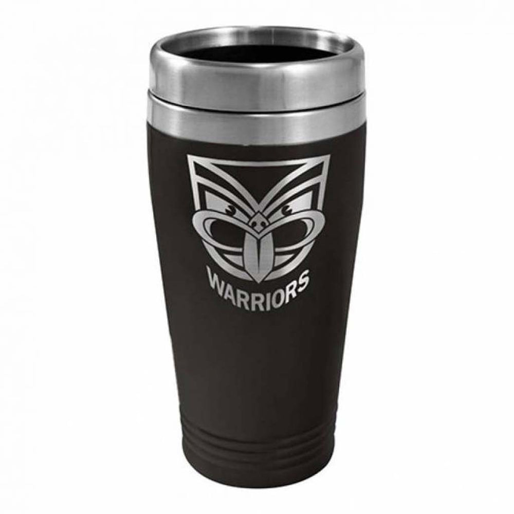 New Zealand Warriors Stainless Steel Travel Mug