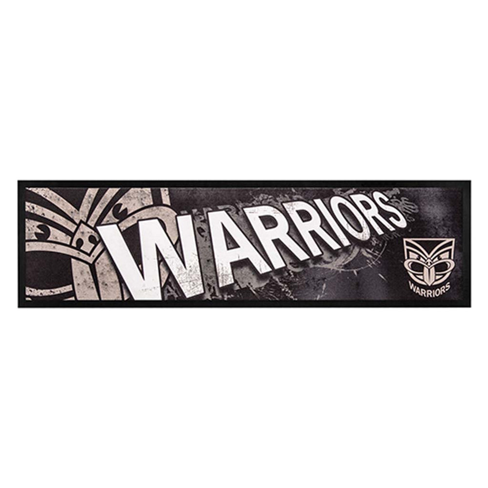 New Zealand Warriors Logo Bar Runner