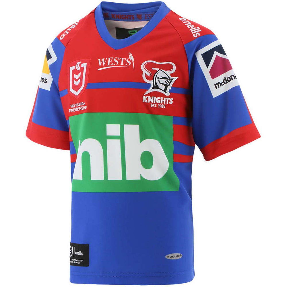 Newcastle Knights 2021 Home Jersey - Youth