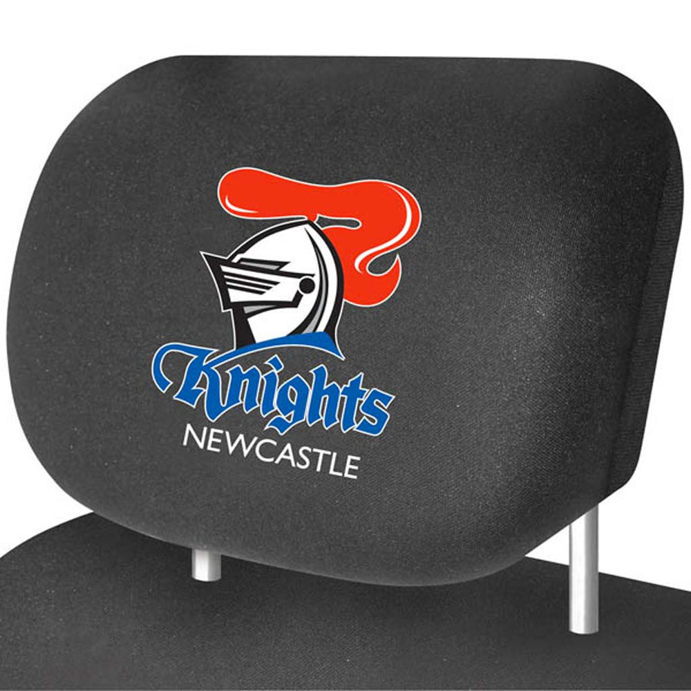 Newcastle Knights Head-Rest Covers
