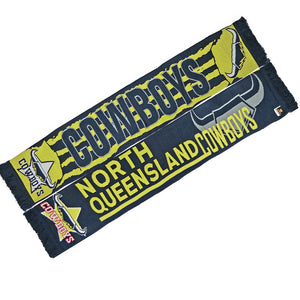Load image into Gallery viewer, Queensland Cowboys Alliance Jacquard Scarf