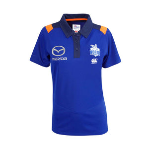 Load image into Gallery viewer, North Melbourne Kangaroos 2018 Media Polo