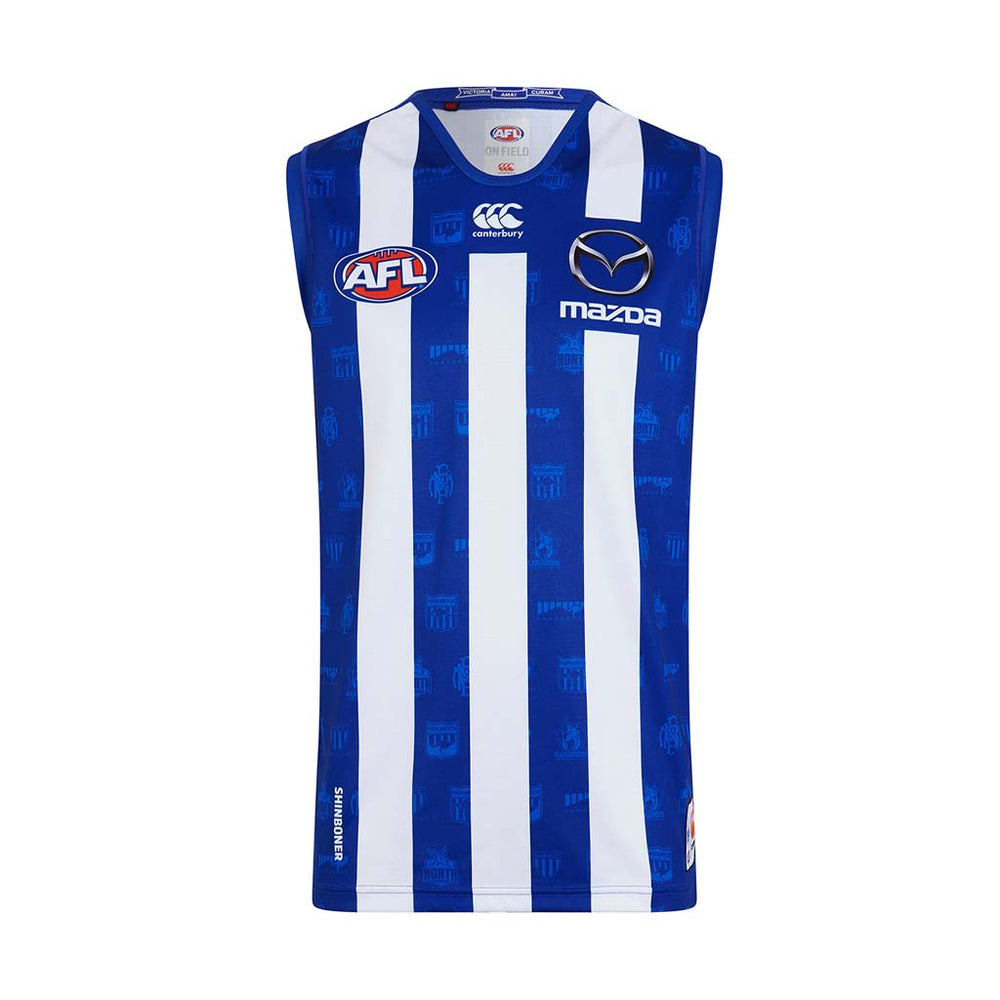 North Melbourne Kangaroos 2019 Home Guernsey - Youth