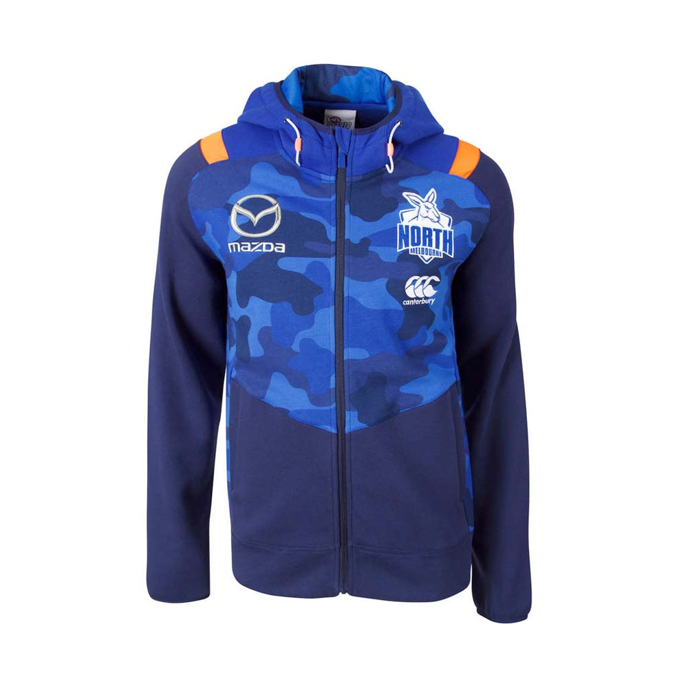 North Melbourne Kangaroos 2018 Zip Thru Hoodie