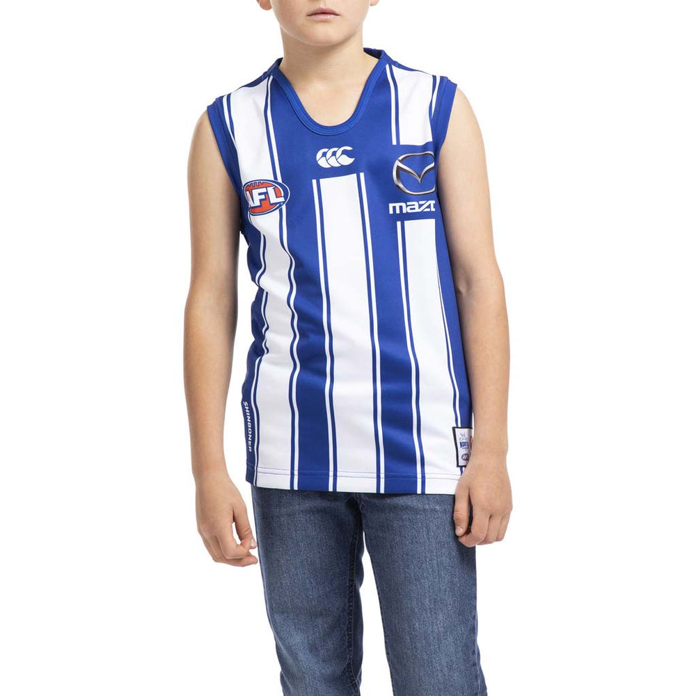 North Melbourne Kangaroos 2020 Home Guernsey - Youth
