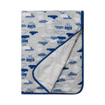 North Melbourne Kangaroos Baby Blanket