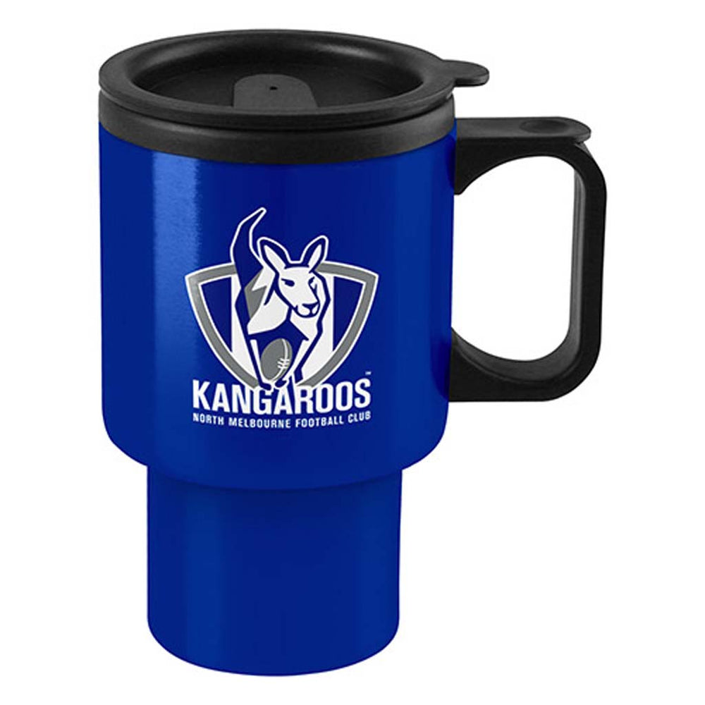 North Melbourne Kangaroos Handled Travel Mug