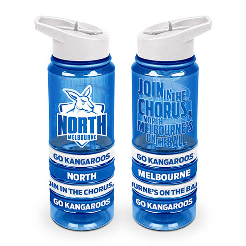 North Melbourne Kangaroos Tritan Bottle and Bands