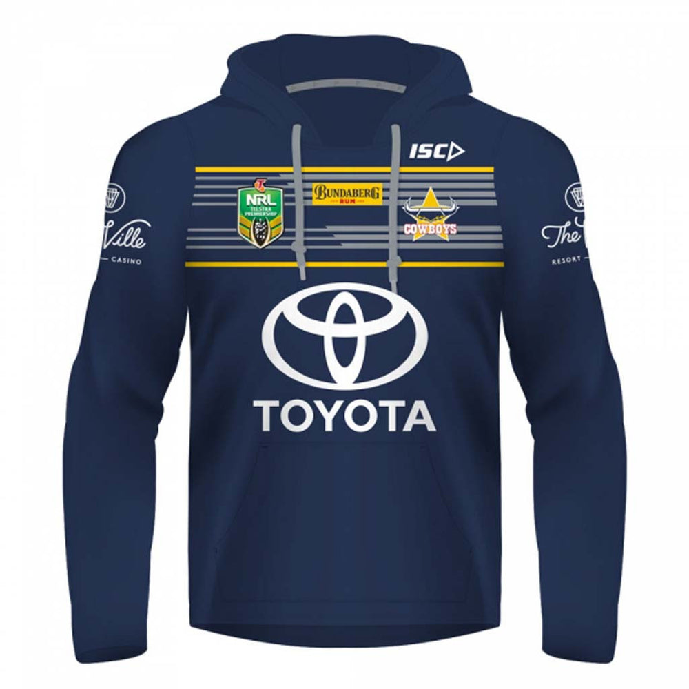 North Queensland Cowboys 2017 Jersey Hoodie - Youth